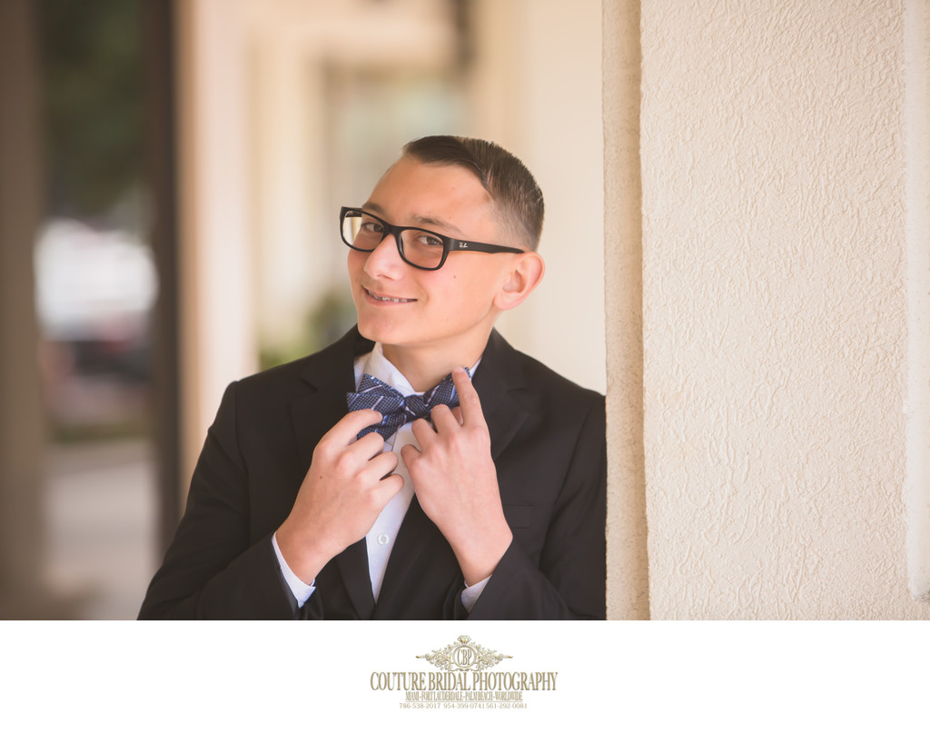 BOCA RATON BAR MITZVAH FORMAL PORTRAIT PHOTOGRAPHY