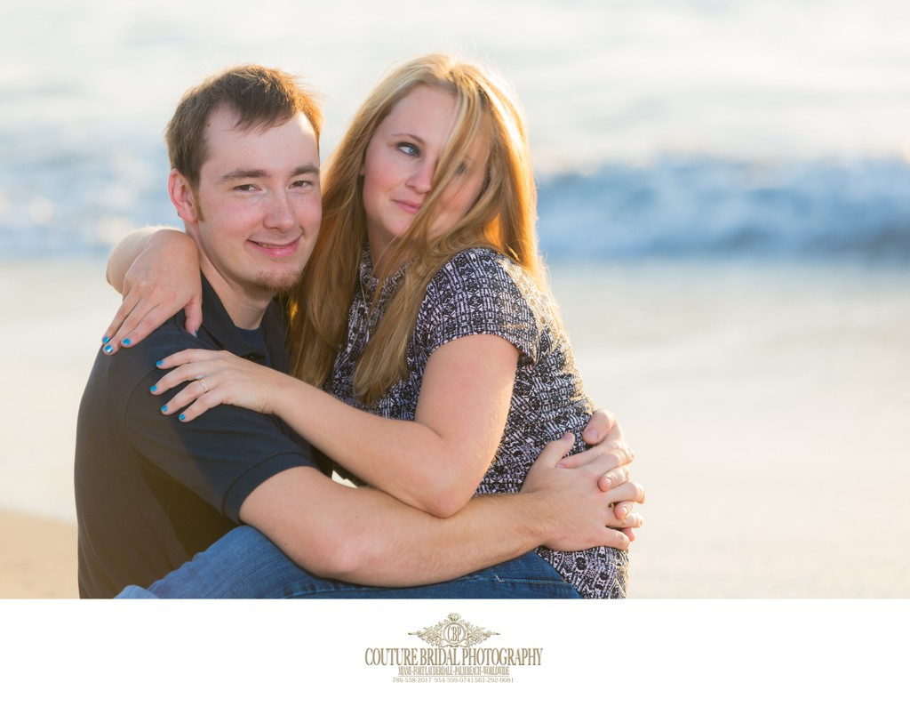 WORTH AVENUE PALM BEACH ENGAGEMENT PHOTOGRAPHY SESSION