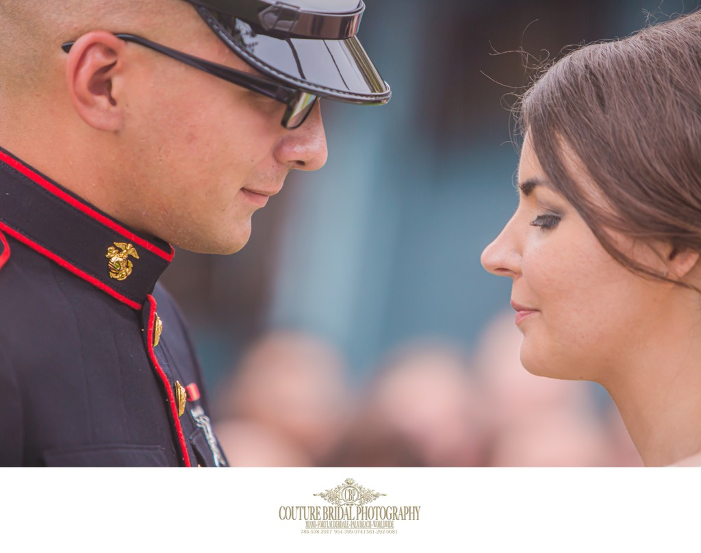 WEDDING PHOTOGRAPHER MILITARY SERVICES MEMBERS FLORIDA
