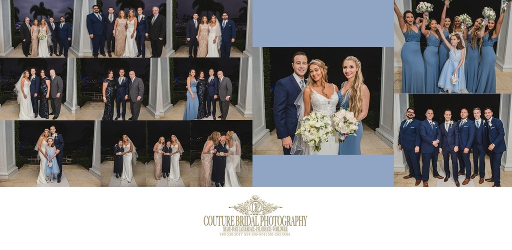 CUSTOM WEDDING ALBUM FORT LAUDERDALE