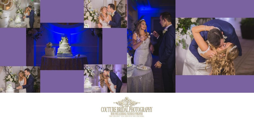 WEDDING ALBUM DESIGNS BY FORT LAUDERDALE PHOTOGRAPHER