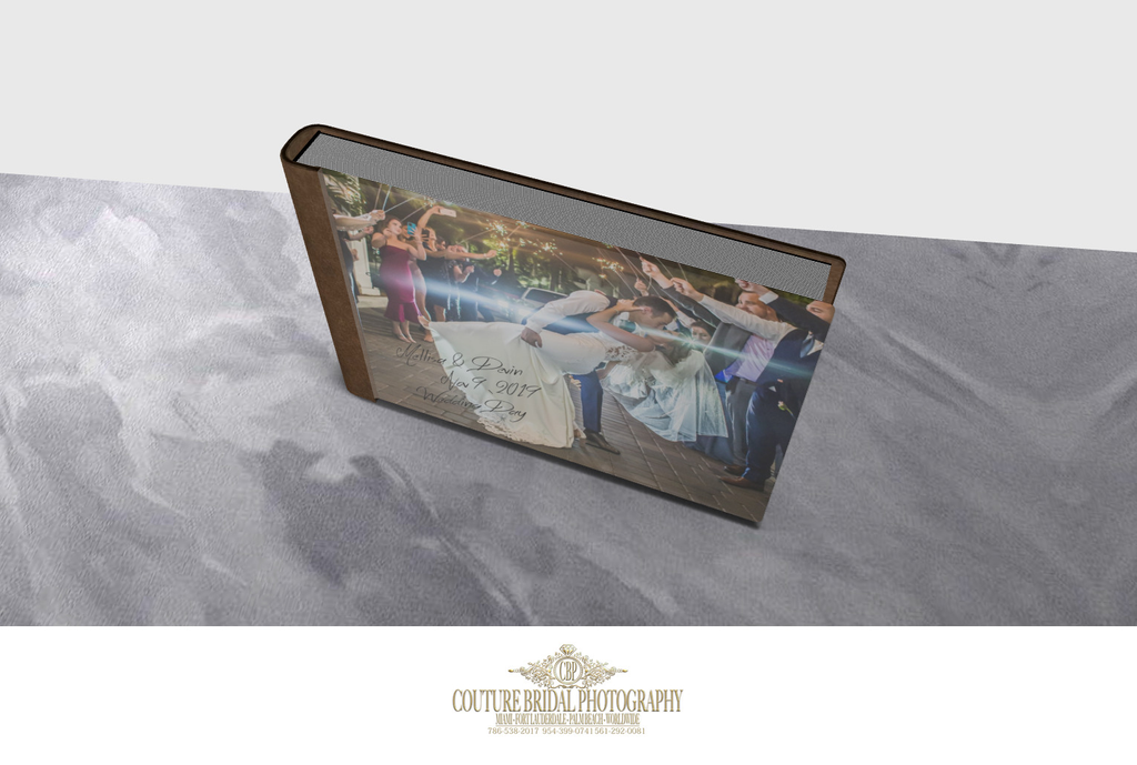 3-D WEDDING ALBUM DESIGN RENDERING FORT LAUDERDALE