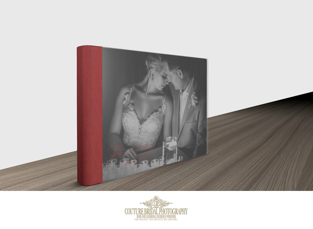 WEDDING ALBUM MATERIALS AND COVERS