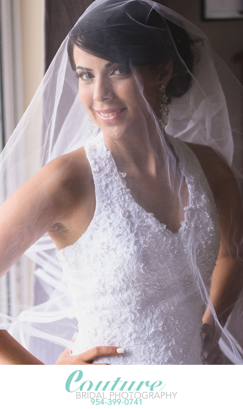 FORT LAUDERDALE WEDDING & BRIDAL PORTRAIT PHOTOGRAPHY