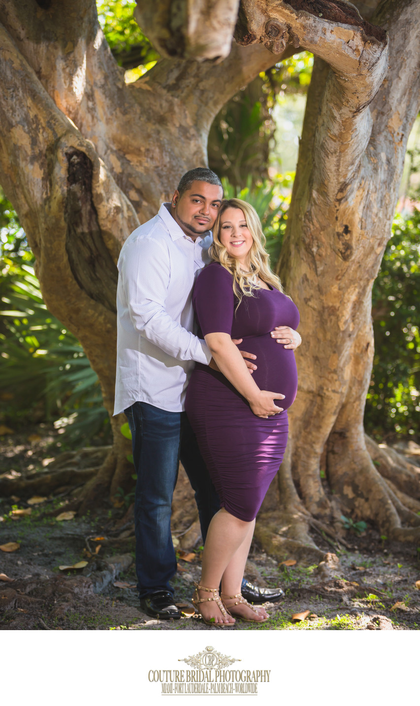 CORAL GABLES ON-LOCATION MATERNITY PHOTOGRAPHER