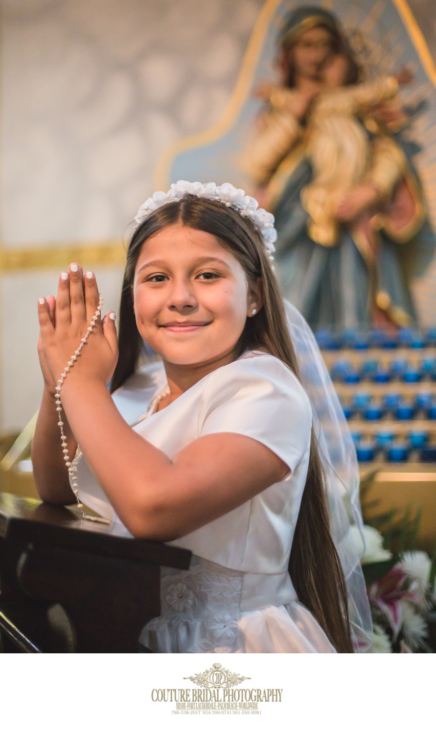 FIRST COMMUNION PHOTOGRAPHY NEW YORK CITY