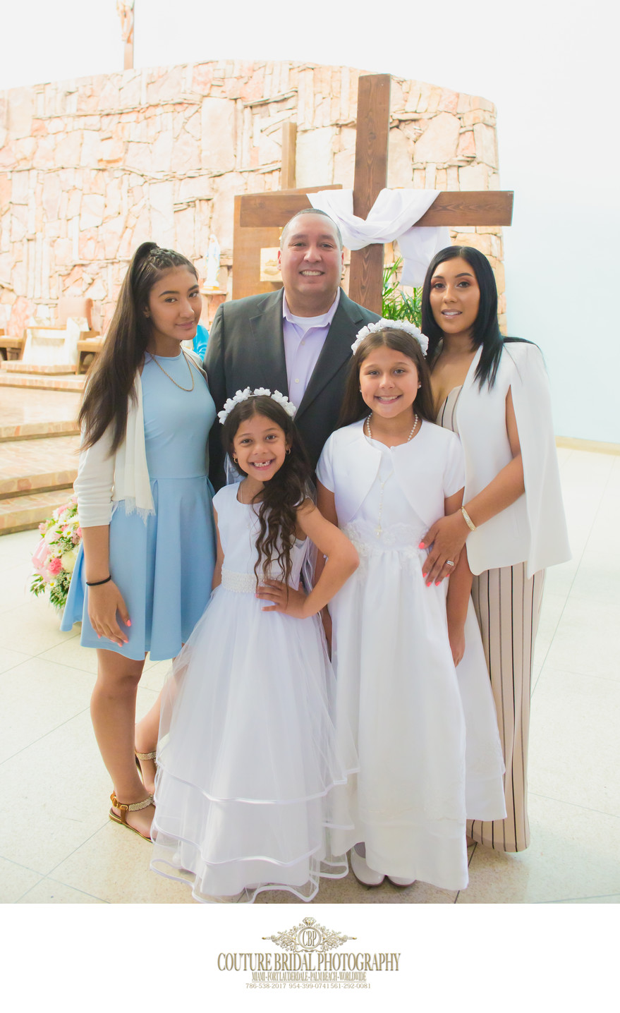 MIAMI COMMUNION AND CONFIRMATION PHOTOGRAPHER
