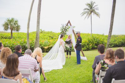 FORT LAUDERDALE US MARINE WEDDING PHOTOGRAPHER