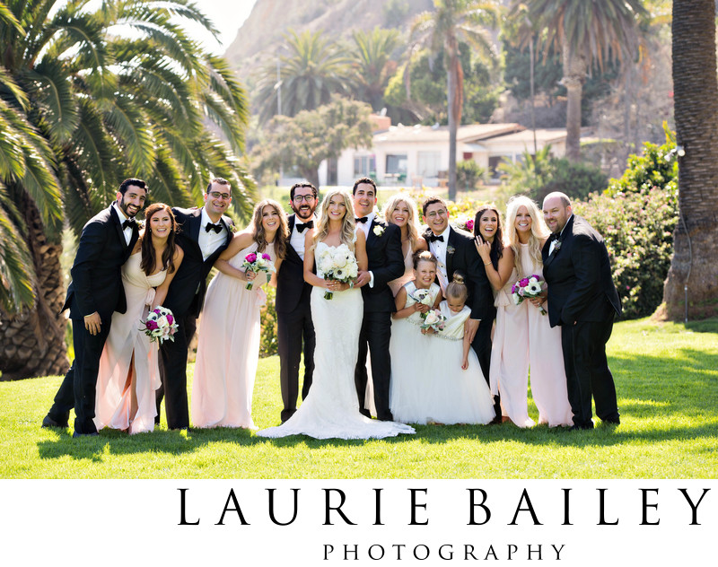Bel Air Bay Club Wedding Party