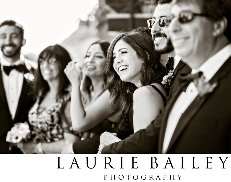 Wedding Photographer for Bel Air Bay Club