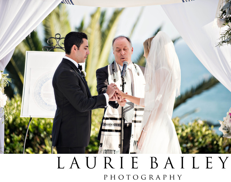 Jewish Wedding at Bel Air Bay Club