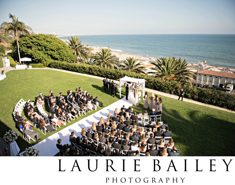 Ocean View Weddings Los Angeles