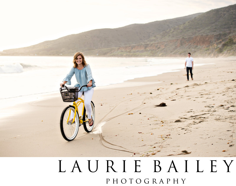 Beach Engagement Photoshoot Santa Barbara Photographer