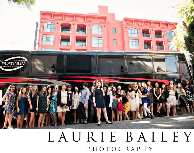 Fun Bat Mitzvah Photography Los Angeles
