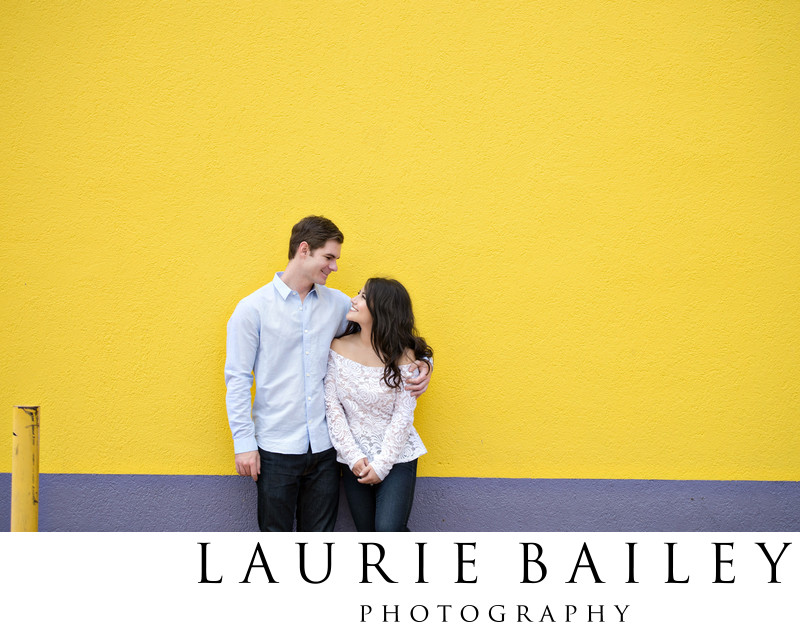 Downtown LA Engagement Photos