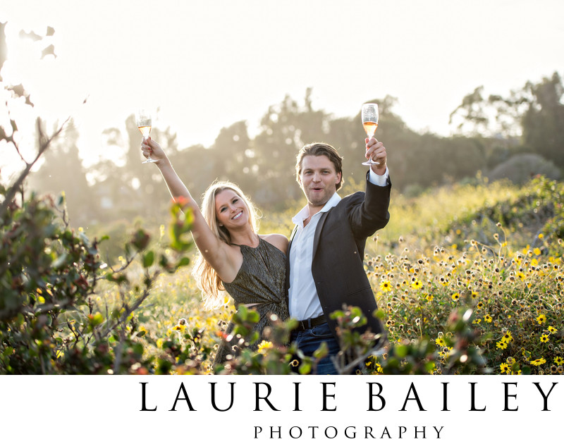 El Matador Engagement Session Champagne