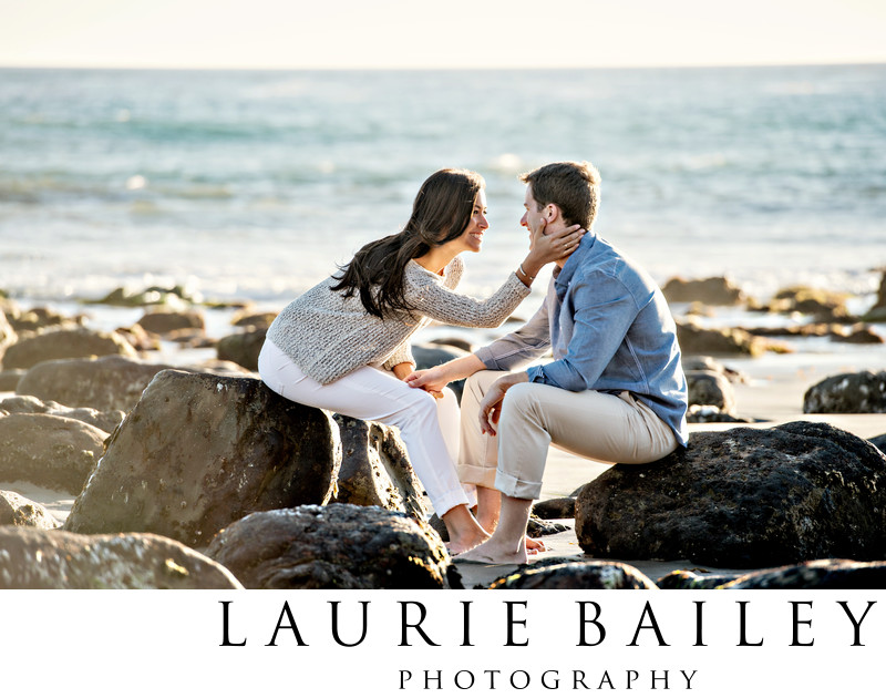 Santa Barbara Engagement Photos Beach