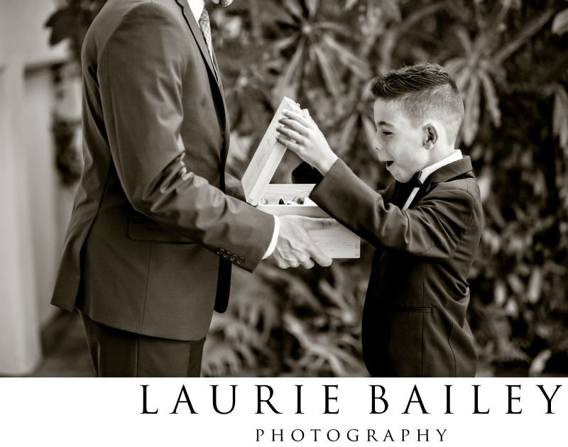 Santa Barbara Wedding Ringbearer