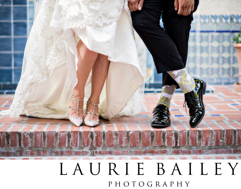 Fun Wedding Photos in Santa Barbara