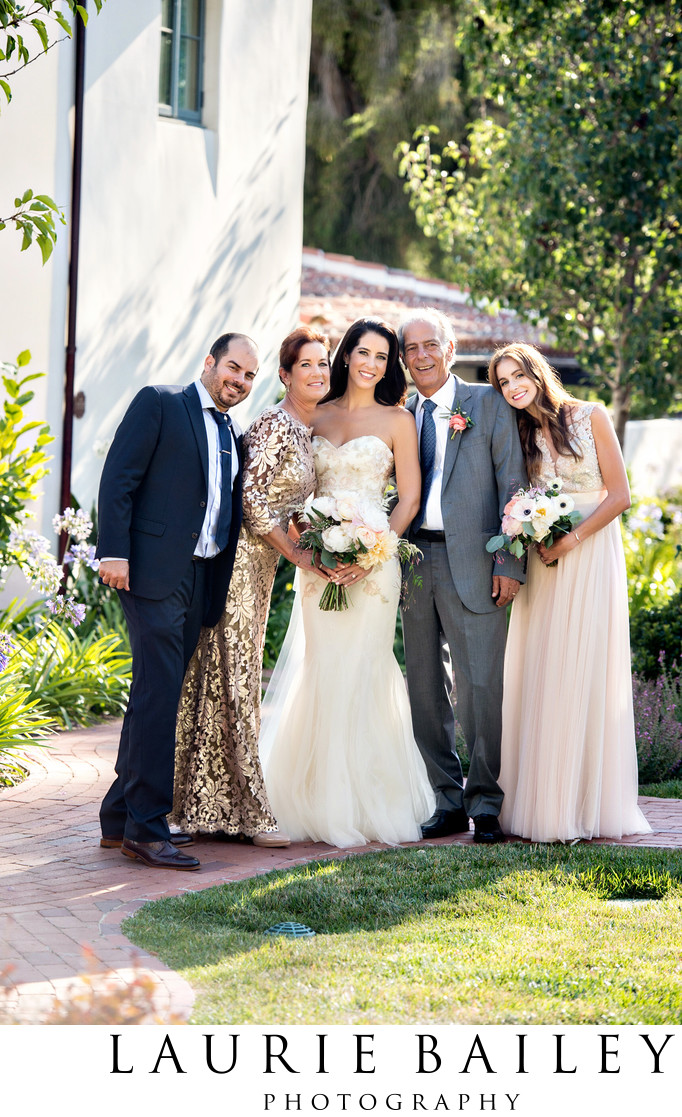 Wedding Photography Family Portrait