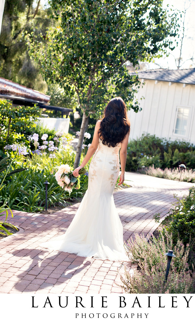 Bridal Gown Santa Barbara Wedding