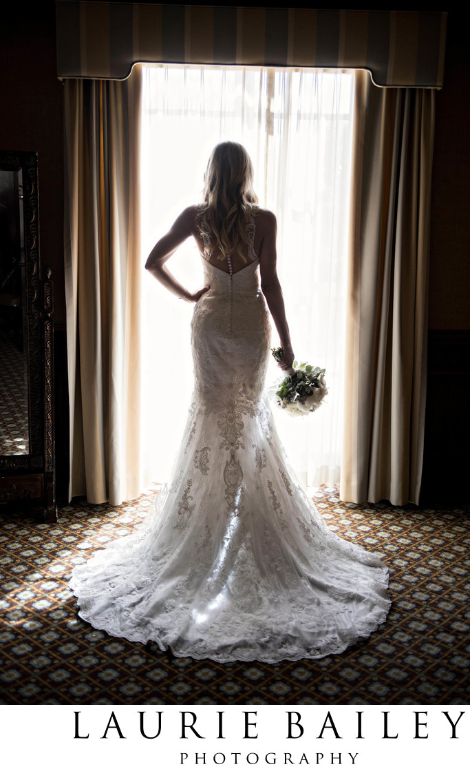 Bel Air Bay Club Bridal Portrait