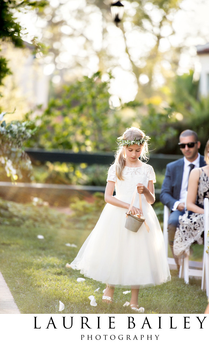 Santa Barbara Flower Girl Dress
