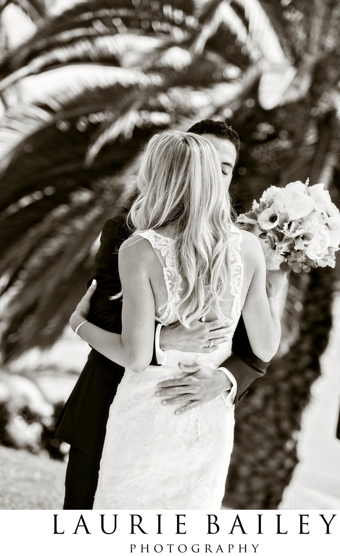 Bel Air Bay Club Wedding Couple
