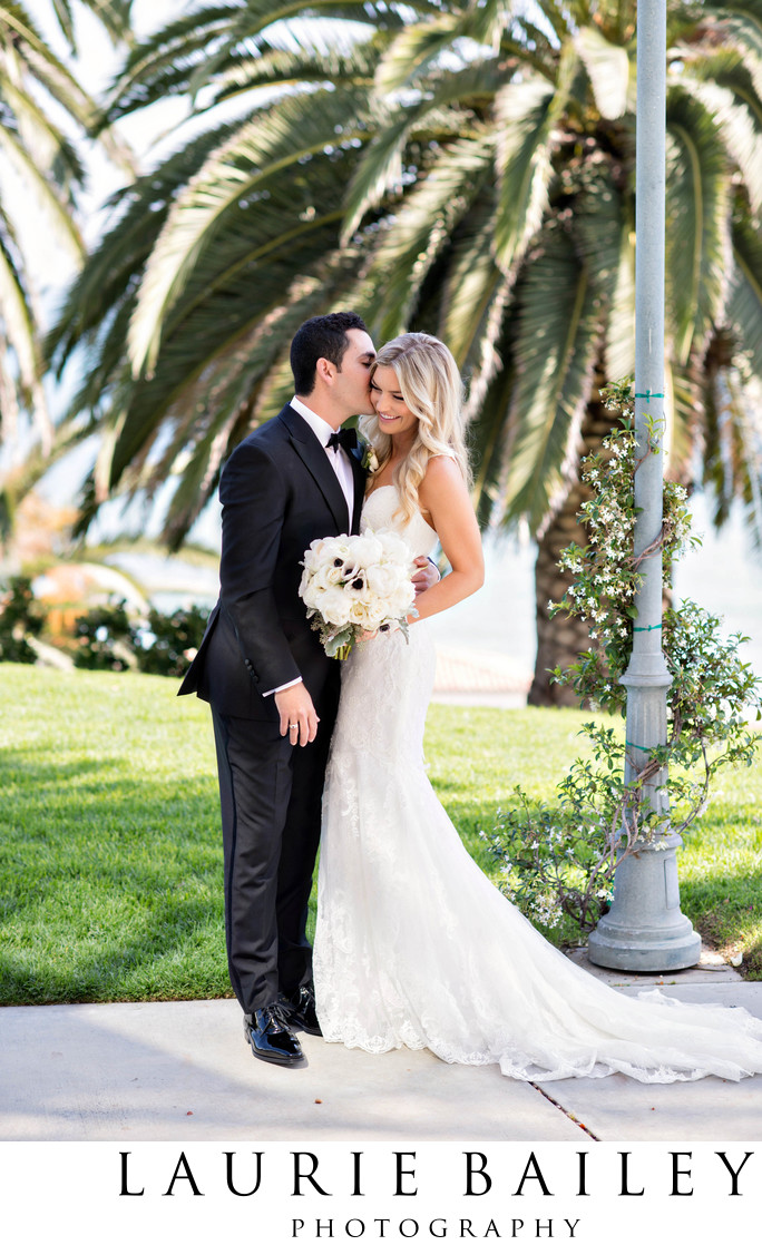 Bel Air Bay Club Wedding First Look