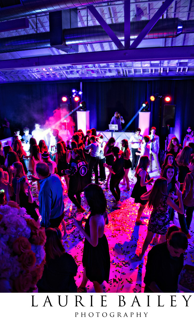 Bar and Bat Mitzvah Party Lighting Los Angeles