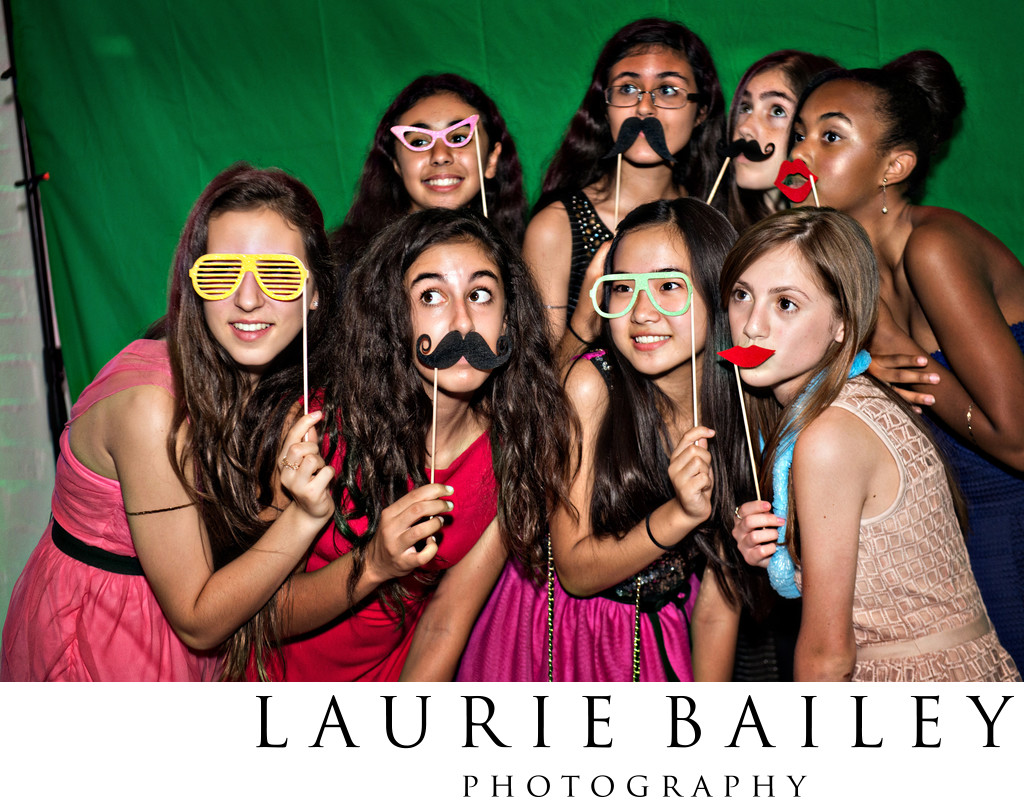 Fun Bat Mitzvah Candids Los Angeles
