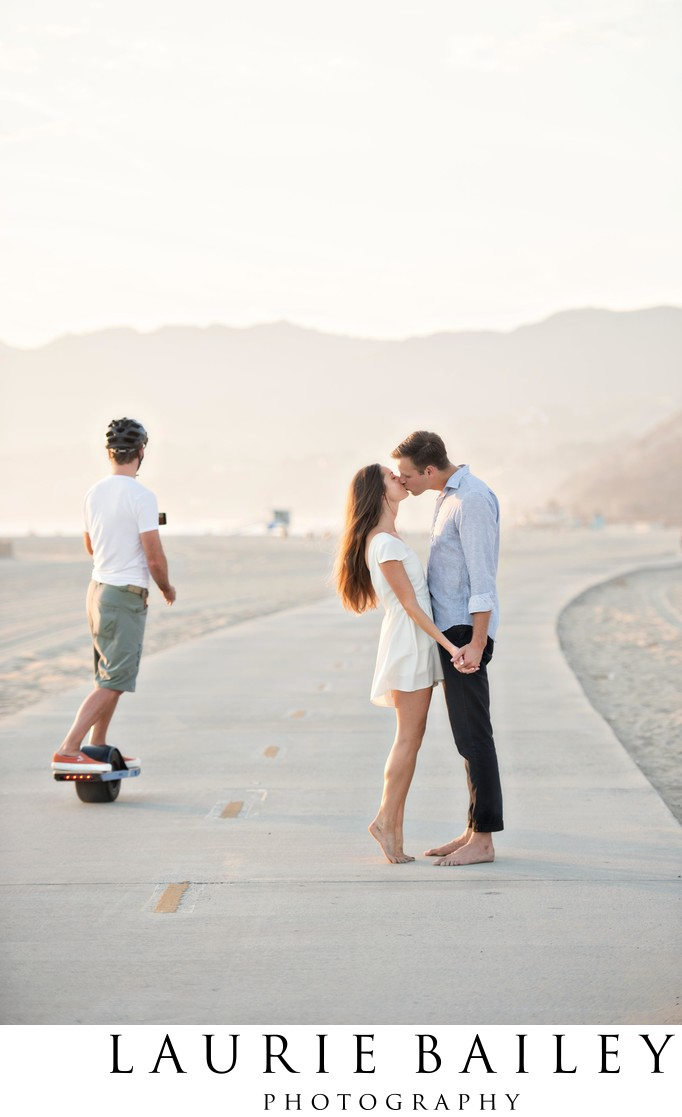 Best Santa Monica Engagement Photos