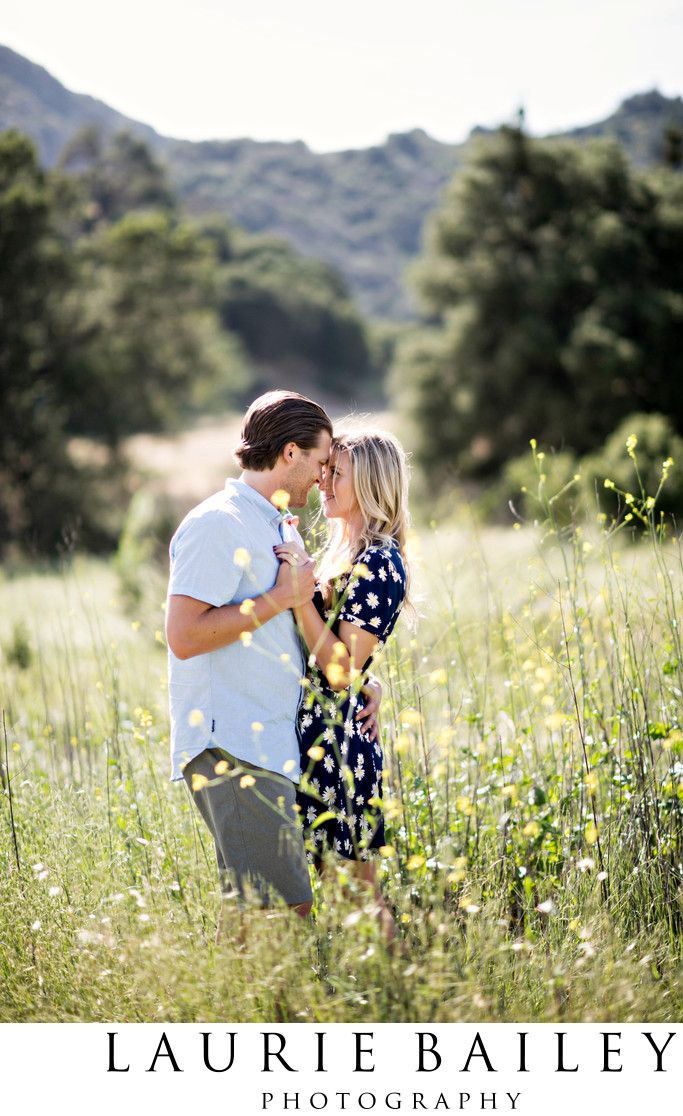 Romantic Engagement Photography LA