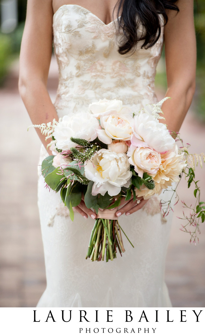 Florals at a Santa Barbara Wedding