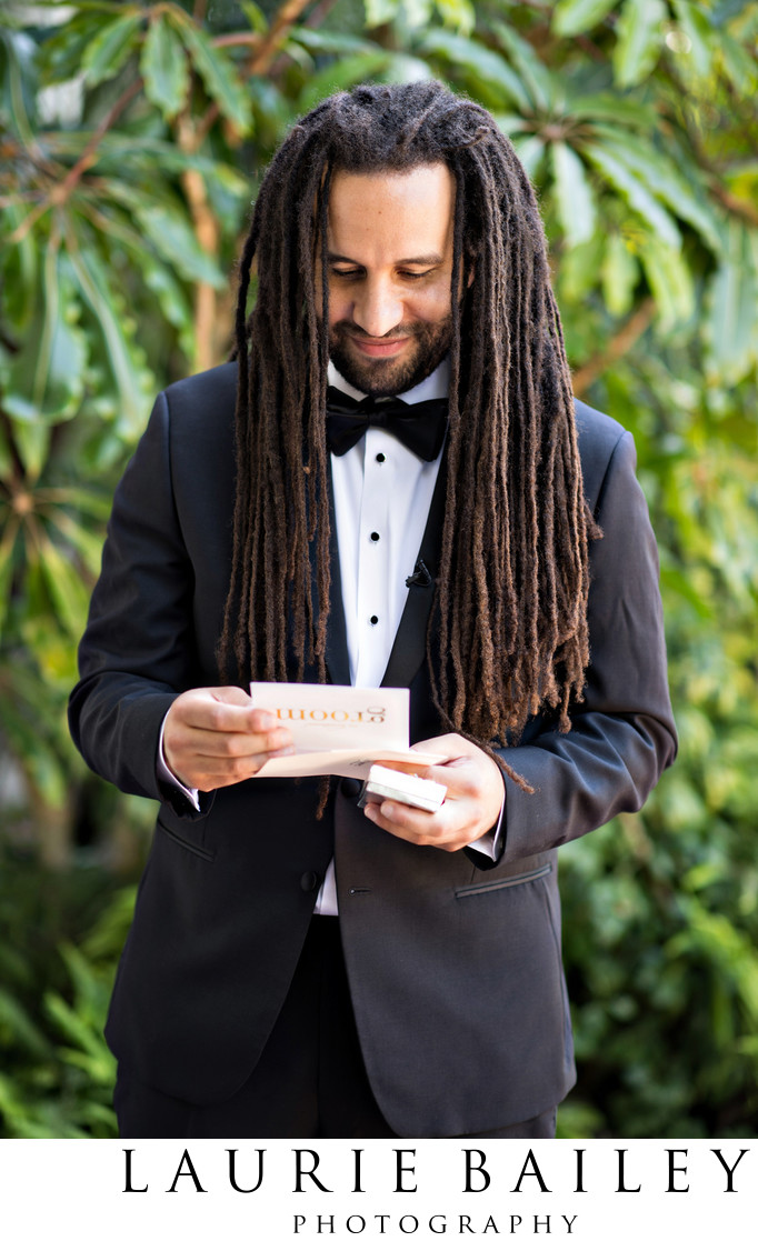 Santa Barbara Groom Letter