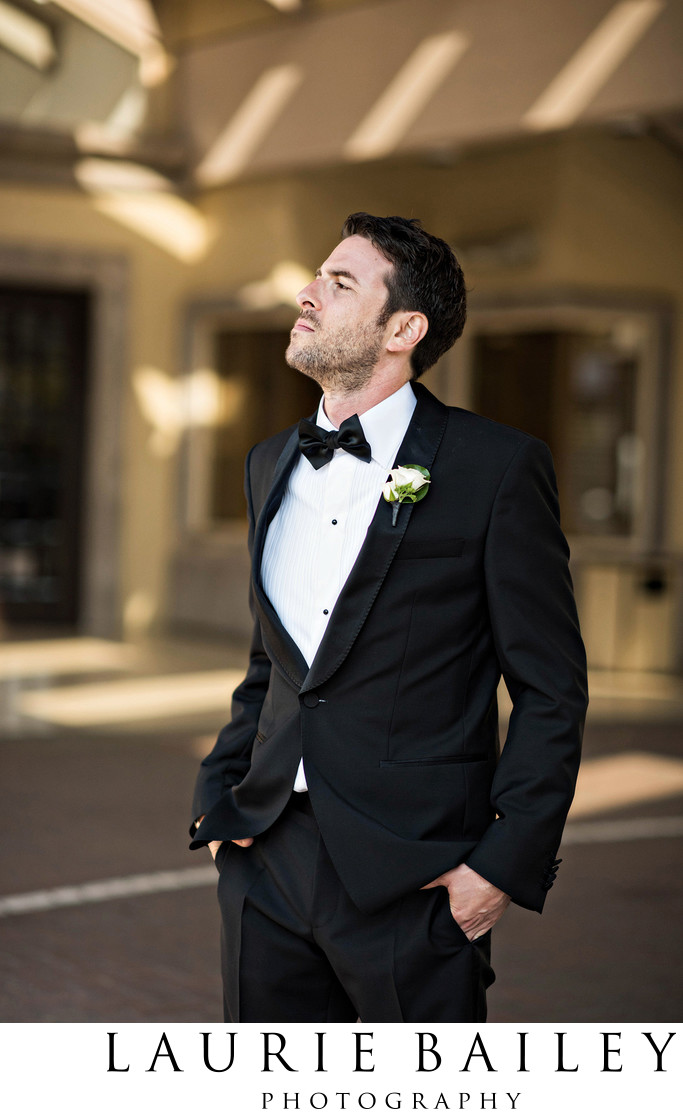 Brentwood Country Club Wedding Groom