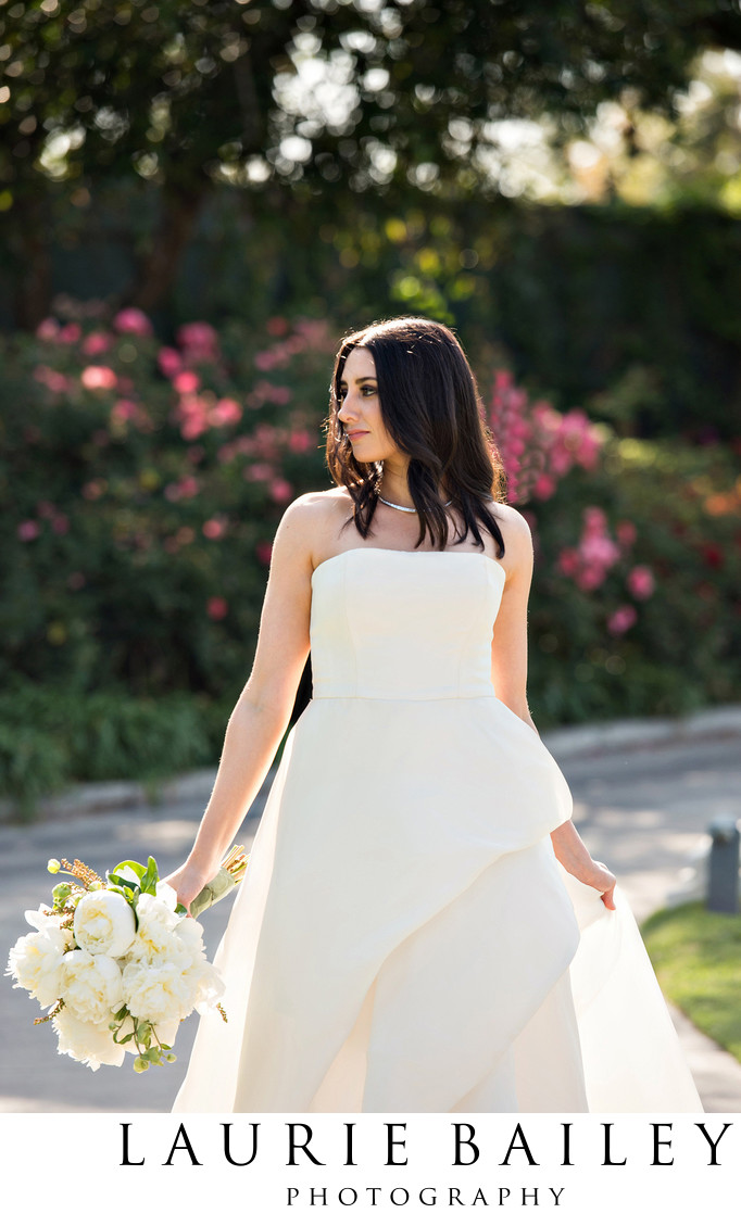 Bridal Portrait Brentwood Country Club Wedding