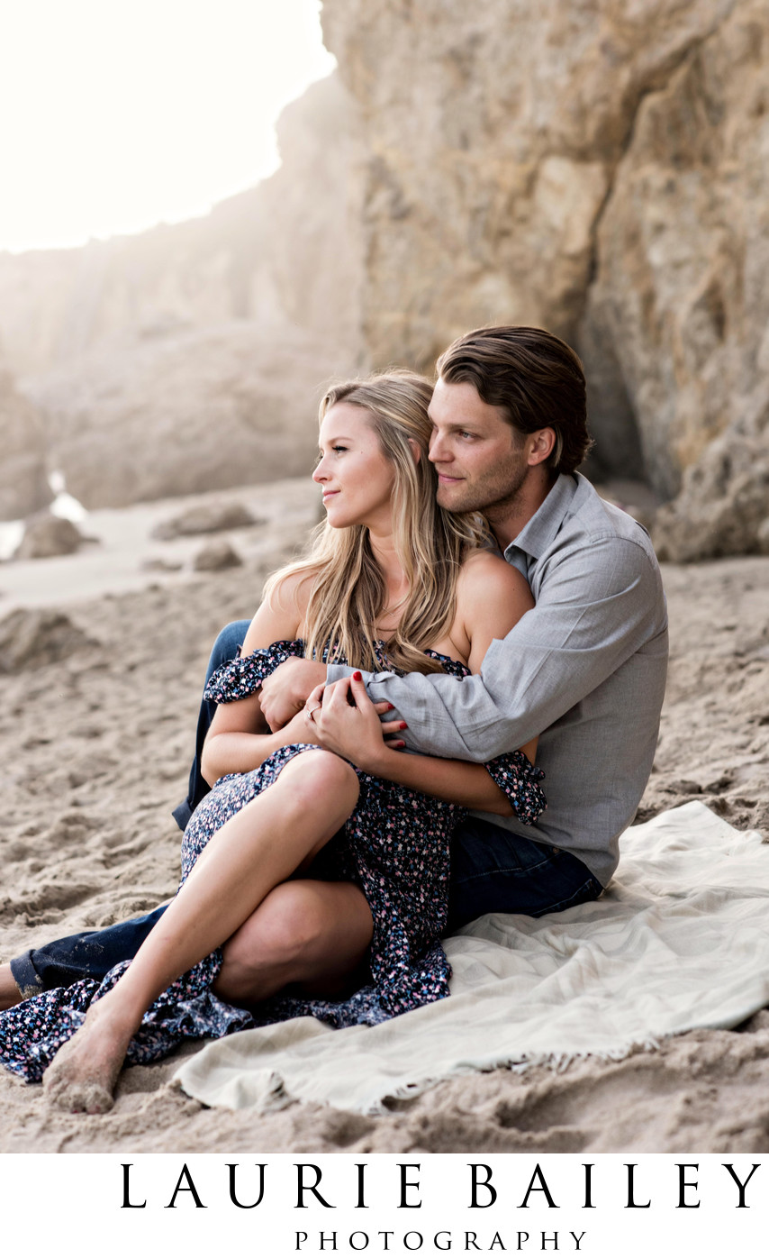 Beach Engagement Photos Malibu