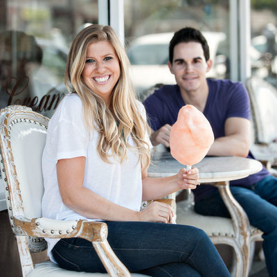 Fun Engagement Photographer Los Angeles California