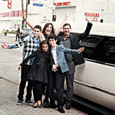 Los Angeles Bar Mitzvah Family