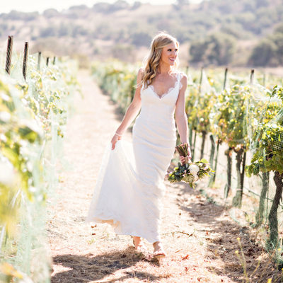 Santa Barbara Wedding Vineyard