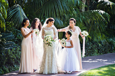 Biltmore Santa Barbara Bride and Bridesmaids