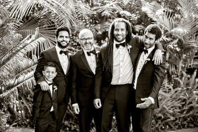 Groomsmen at Four Seasons Santa Barbara Wedding