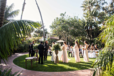 Garden Wedding Santa Barbara