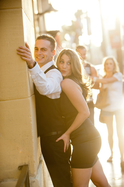 Fun Los Angeles Engagement Photos