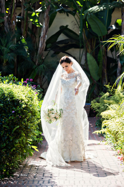 Four Seasons Santa Barbara Wedding Bride