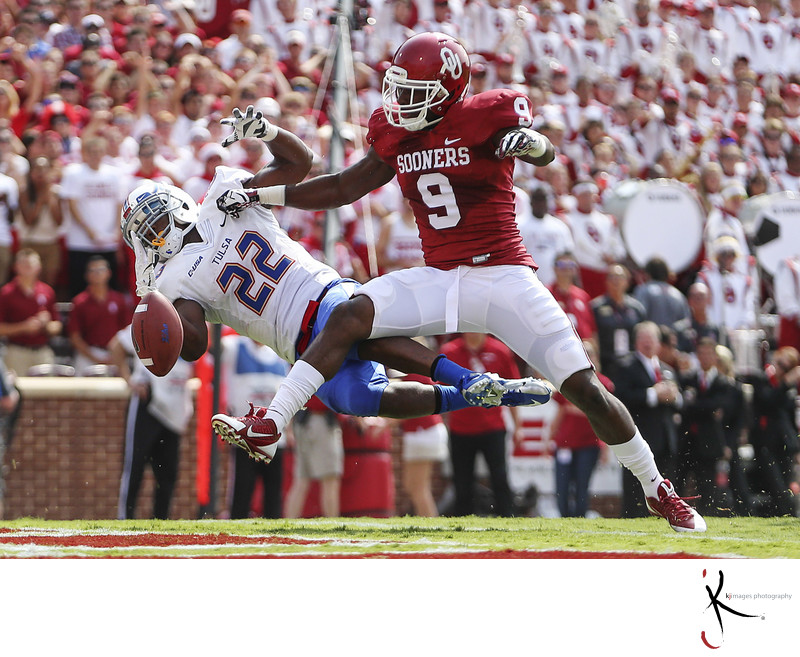 NCAA Football: Tulsa at Oklahoma