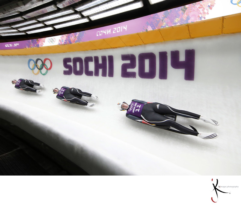 Olympics: Luge-Women's Singles Training