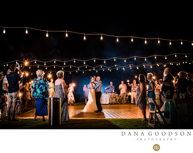Amelia Island Wedding at Ritz Carlton nighttime