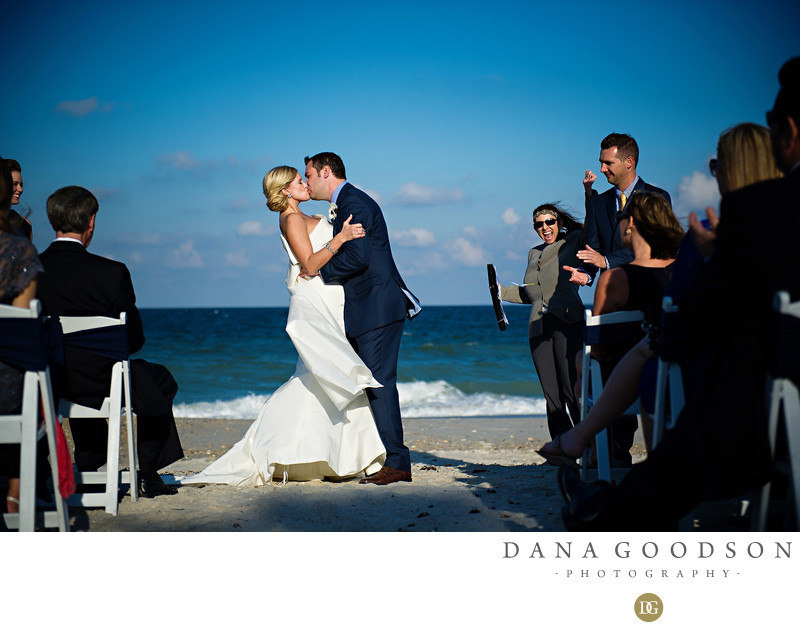 Ponte Vedra Ocean Front Wedding Ceremony